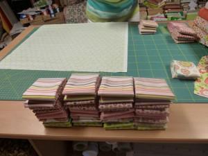 QUIP-forberedelser hos HANNES Patchwork - de pakkes