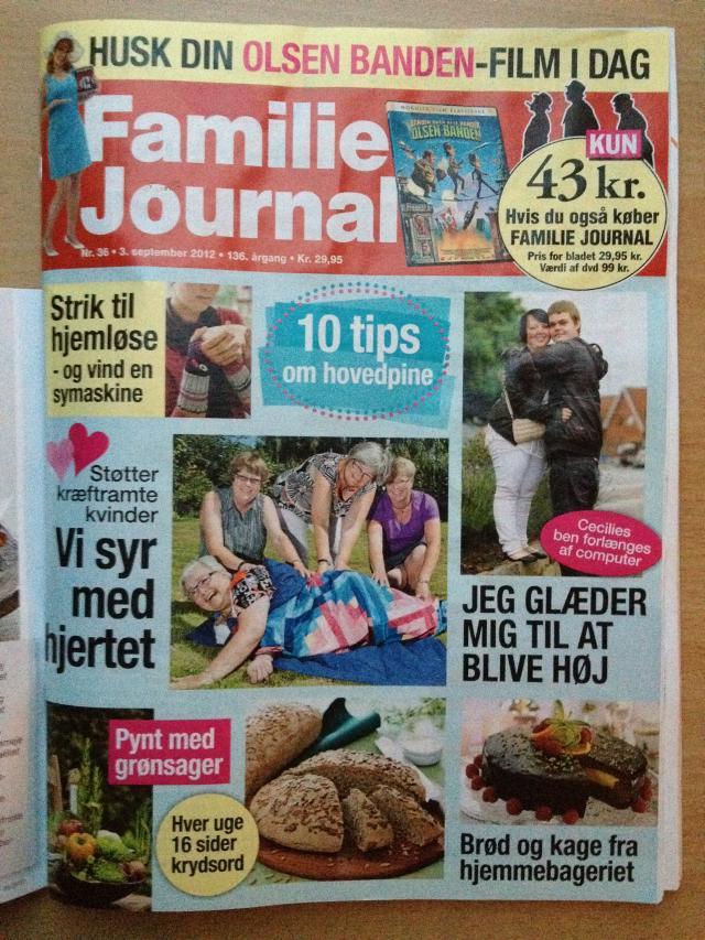 Quilt pink i Familien Journalen 2