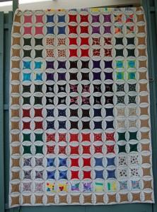 Patchwork drømmen 47 - se mere patchwork på HANNES blog