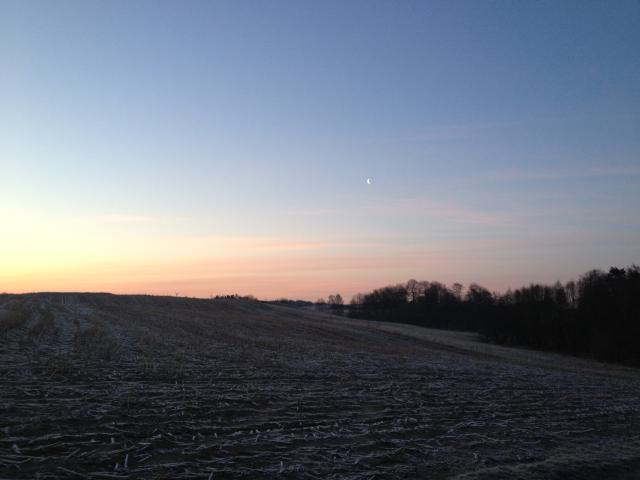 Solopgang over vejerslev1