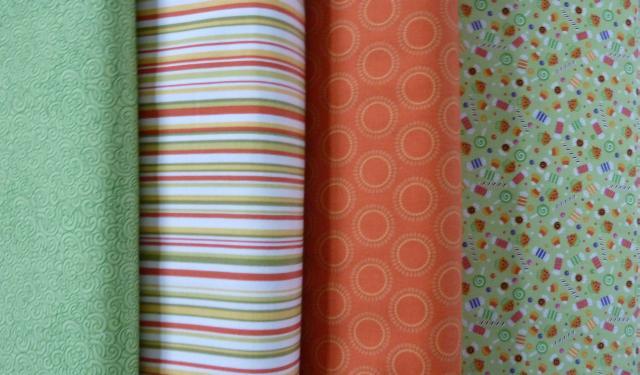 Flotte patchwork stoffer til HANNES patchwork Sommer DHU friskalle