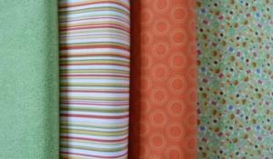 HANNES patchwork sommer DHU - sykit friske farver