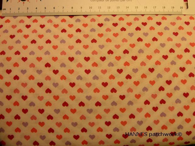 Stjerne-hjerte patchworkstof2