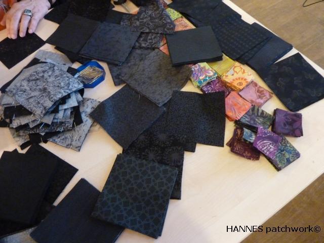 Tæppe kursus hos HANNES patchwork1