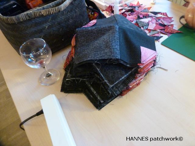 Tæppe kursus hos HANNES patchwork2