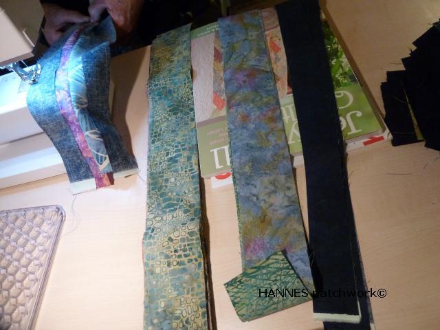 Tæppe kursus hos HANNES patchwork3