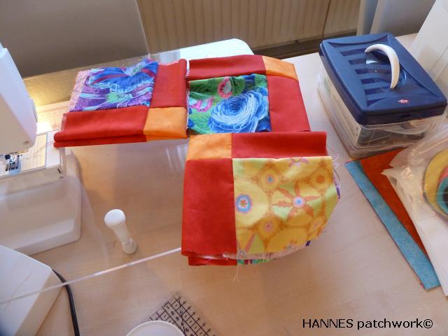 Tæppe kursus hos HANNES patchwork4