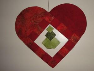 Birthes udgave af Hannes patchwork jule DHD 2011