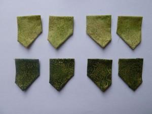 8 figur med patchwork stof til HANNES patchwork Jule DHD 2011 - igen et gratis patchwork mønster