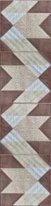 HANNES patchwork sommer DHU - løber - øst/vest