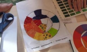 farvelære kursus hos HANNES patchwork