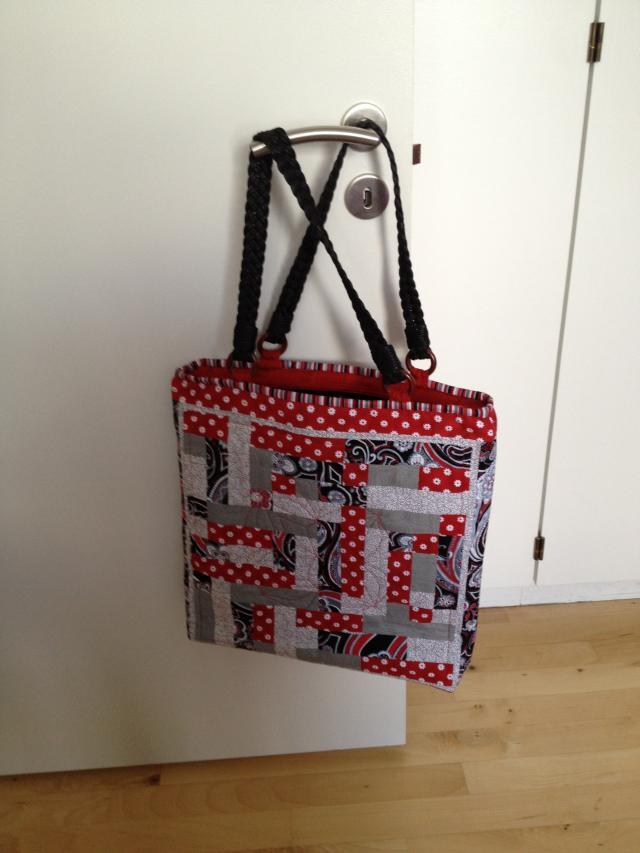 Toves flotte patchwork taske - endnu en udgave af HANNES patchwork sommer DHU