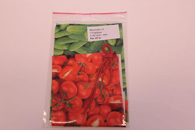 sykit - materaler til frugtposer