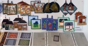 Flere Grydelapper i Hannes patchwork butik