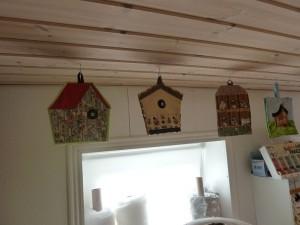 grydelapper i loft  hos HANNES patchwork