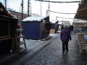 Hannes tur til København - her Nyhavn