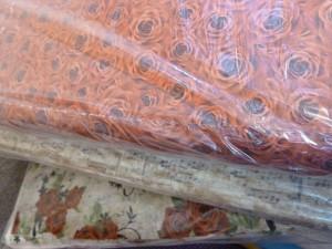 Flotte patchwork stoffer med roser og noder - HANNES patchwork