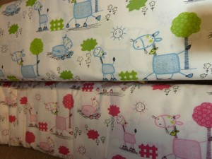 Flotte børne patchwork stoffer - HANNES patchwork
