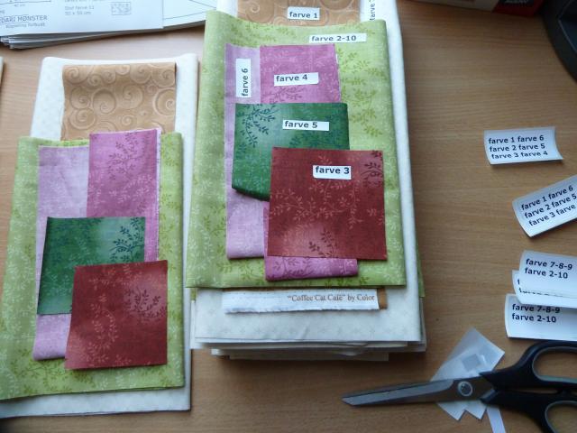 Hedvig pude sykit fra HANNES patchwork