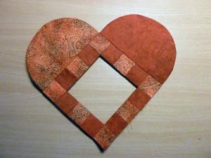 HANNES patchwork Jule DHD - nu som hjerte