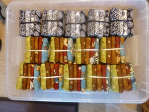 Kasser med patchwork stoffer 2