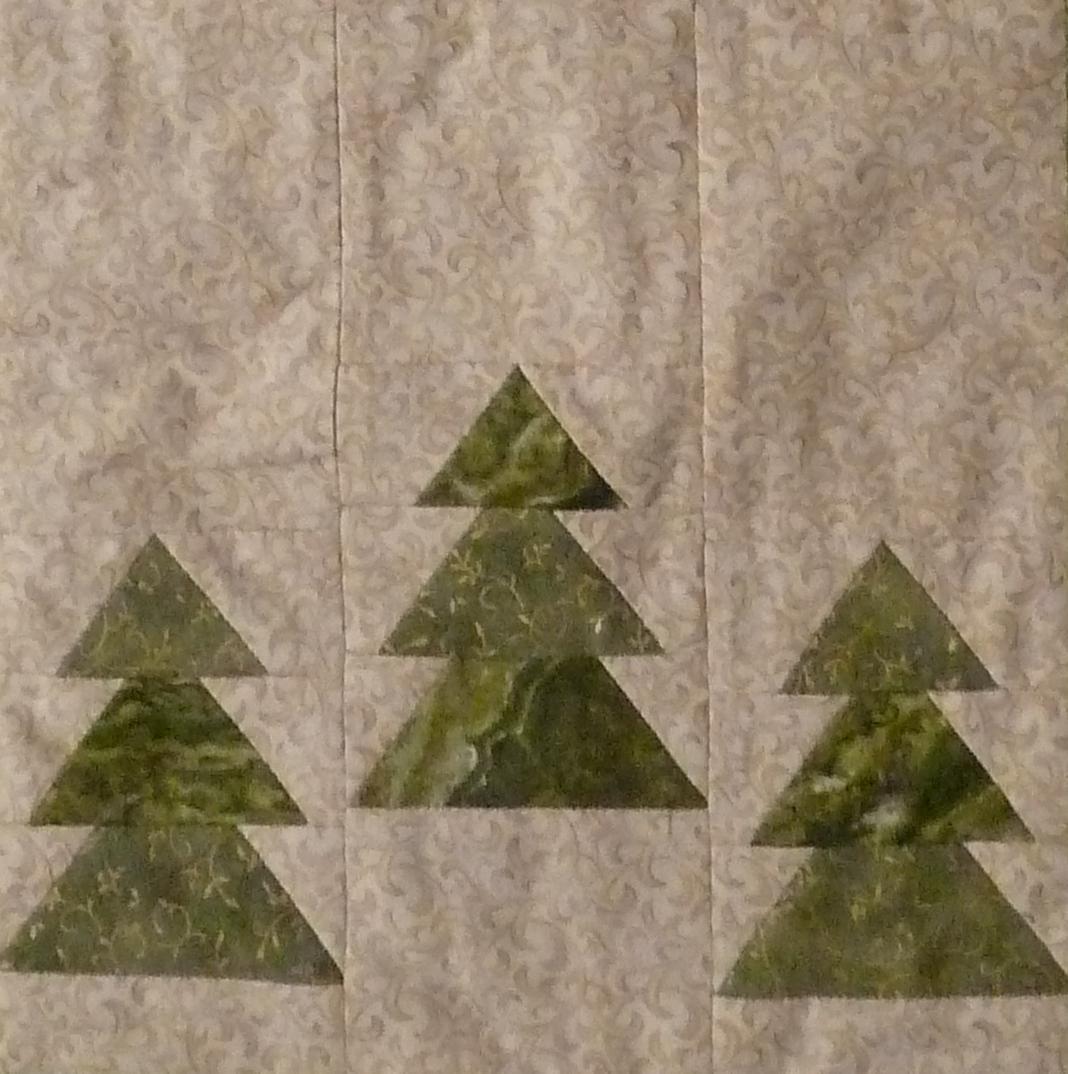 Lenes udgave af HANNES jule DHD juletræer.