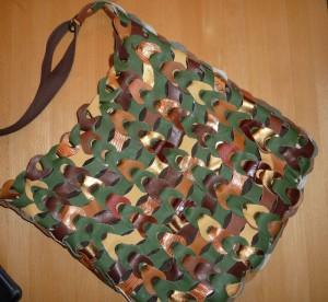 Lisbeth flotte taske i grøn skind - set på HANNES blog.