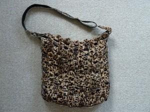 Lisbeth flotte taske i pels skind - set på HANNES blog.