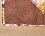 Afslutning på tittebånd med anoraksnor - se mere på HANNES blog