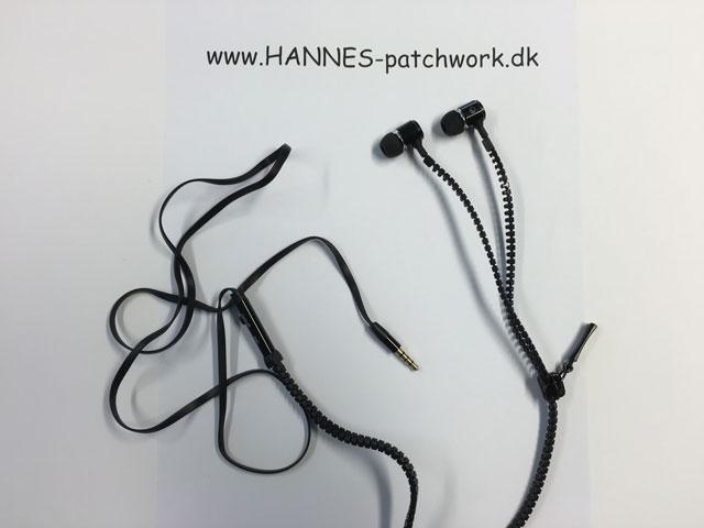 lynlås høretelefoner