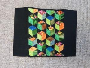 Rumber kasser-mini patchwork sengetæpper - gæsteblogger på HANNES Blog