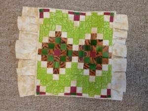 Firkanter- mini patchwork sengetæpper - HANNES patchwork gæsteblogger