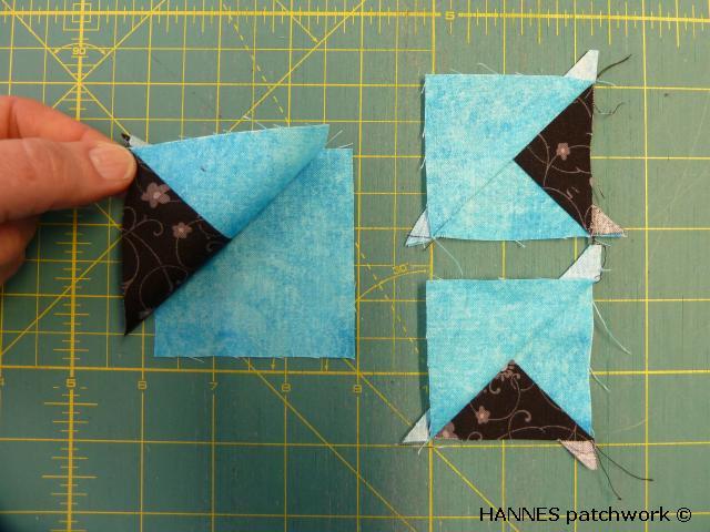 nemme trekanter HANNES sypatchworkskole