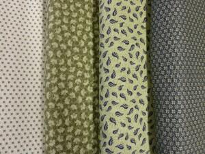 HANNES Patchwork sommer DHU 2011 patchwork stof sykit grønne farver