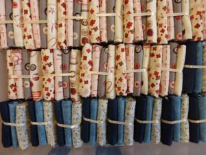 patchwork stoffer i fatquarter på 50 x 55 cm