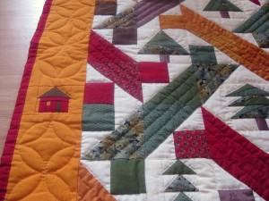 patchwork drømmen - se mere på HANNES blog om patchvork