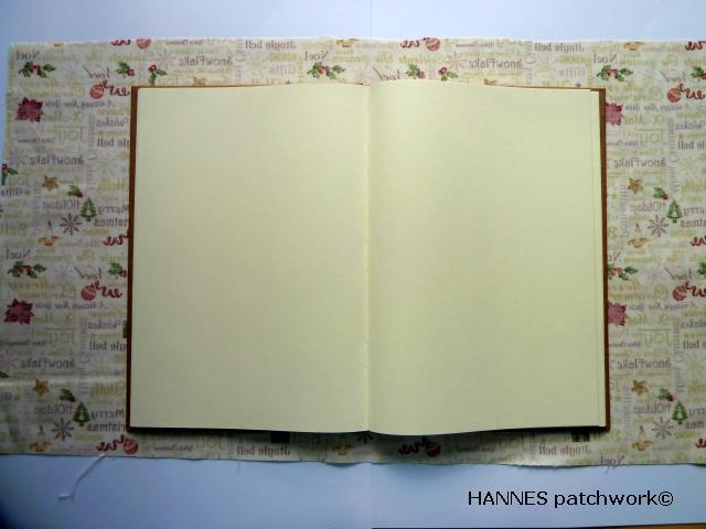 patchworkomslag til bog - Patchwork omslag til din bog - DIY