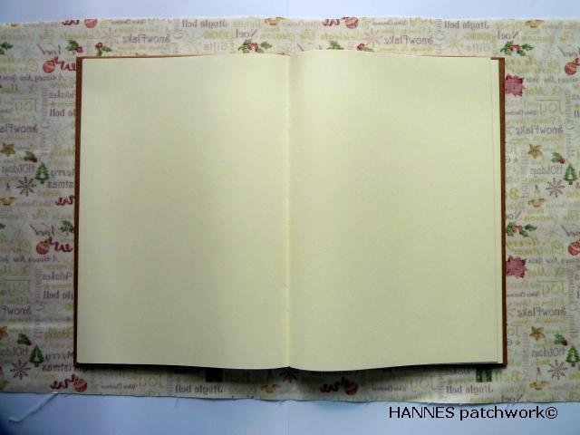 patchworkomslag til bog Patchwork omslag til din bog - DIY