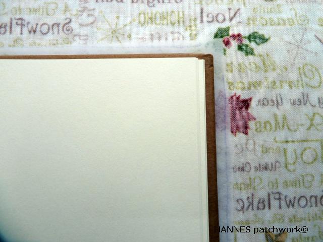 patchworkomslag til bog 6 Patchwork omslag til din bog - DIY