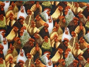 Flotte patchwork stoffer fra HANNES patchwork med høns
