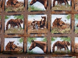 Flotte patchwork stoffer fra HANNES patchwork med heste