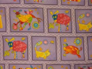 Flotte patchwork stoffer fra HANNES patchwork med dyr