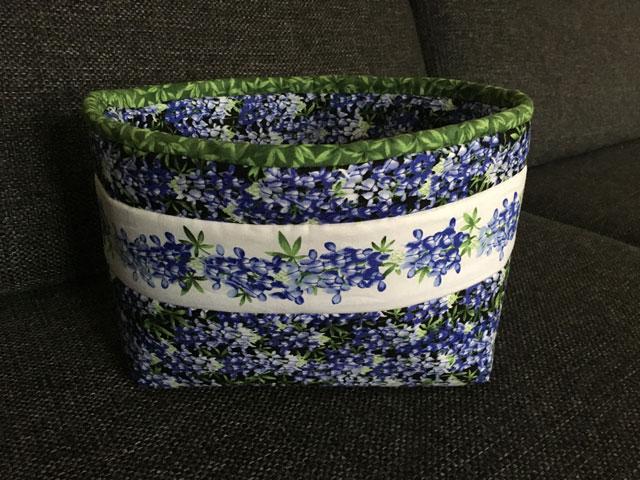 patchwork kurv Style-Vil: Nyt mellemfoer til tasker, boxe mm.