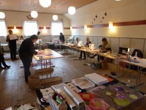Tæppe patchwork kursus hos HANNES Patchwork