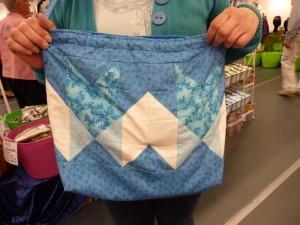taske lavet af HANNES patchwork sommer DHU